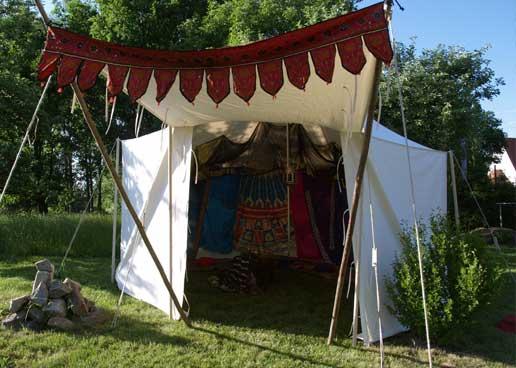 Historische Zelte kaufen aus der Zeltwerkstatt Halang